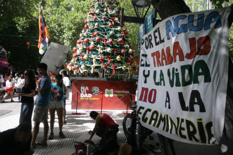 Hoy al mediodía en el km0. Fotografía: Delfo Rodríguez